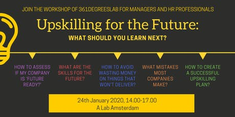 Upskilling for the Future: What should you learn next? tickets