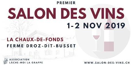 Salon des Vins billets