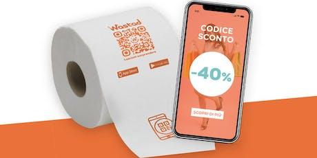 La carta igienica del futuro è realtà, la paghi meno grazie alla pubblicità biglietti