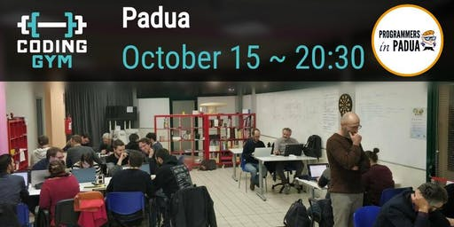 Coding Gym - Ottobre 2019 - Programmers in Padua