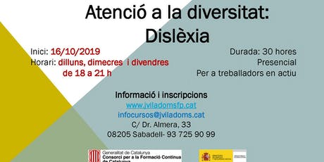 ATENCIÓ A LA DIVERSITAT: DISLÈXIA entradas