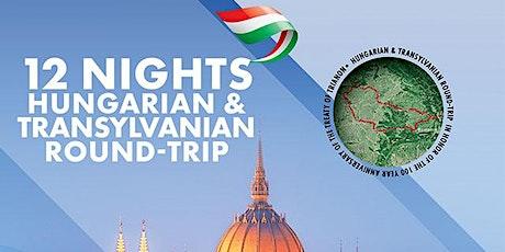 12 Nights Hungarian & Transylvanian round-trip 1-13 June 2020 tickets