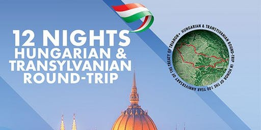12 Nights Hungarian & Transylvanian round-trip 1-13 June 2020