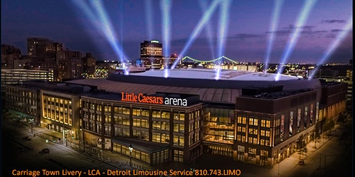Little Caesars Arena - Limo Service Dial #810743LIMO
