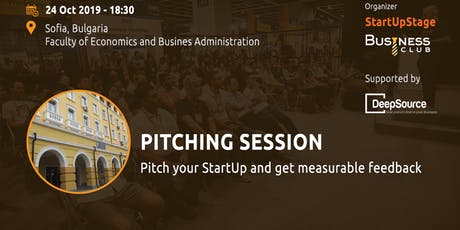 StartUpStage - Pitching Session tickets