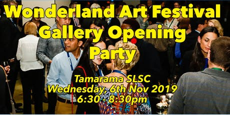 Wonderland Art Festival - Gallery Opening Party tickets
