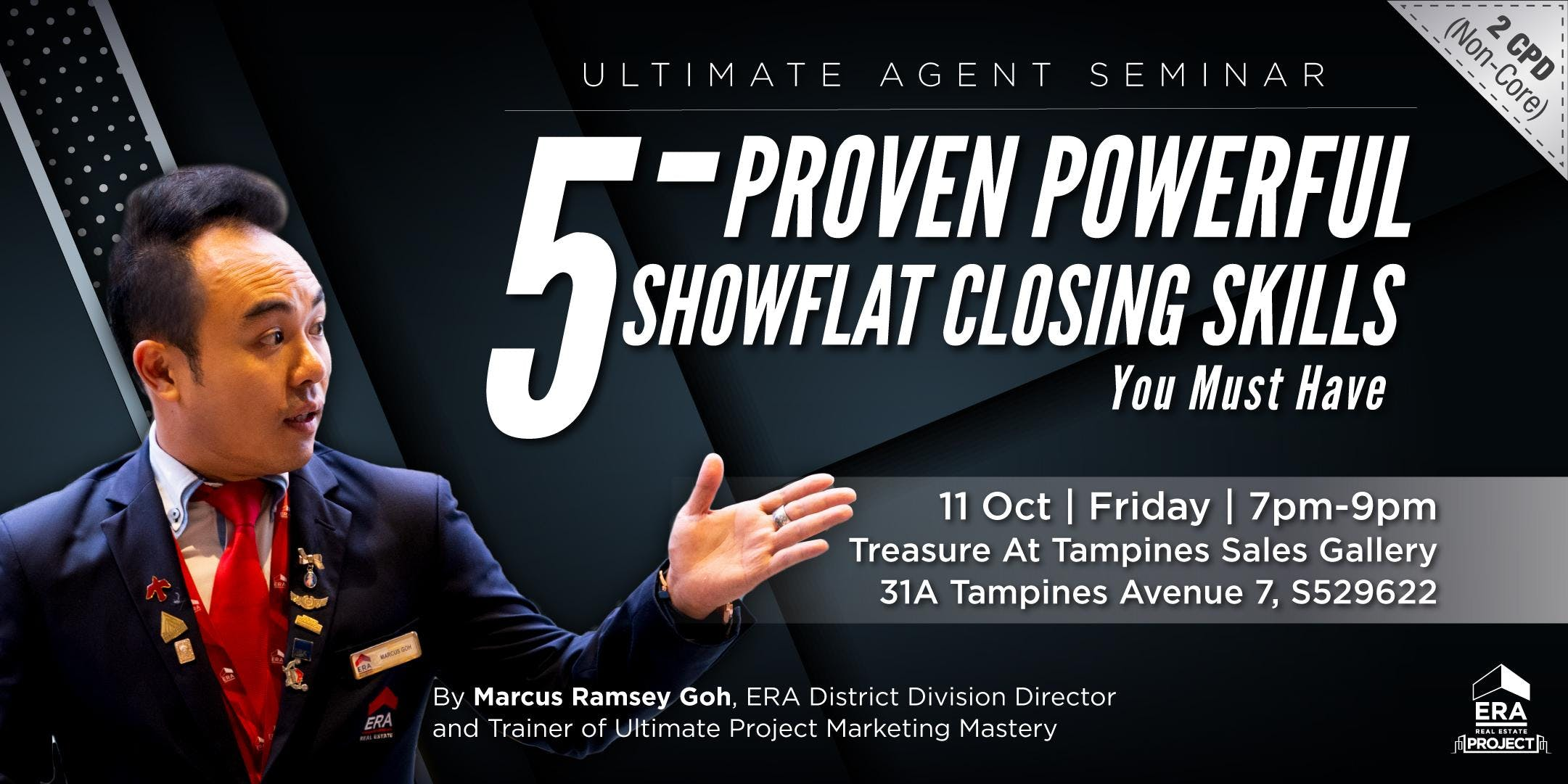 [UAS] 5-Proven Powerful Showflat Closing Skills You Must Have