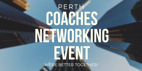 Coaches Networking Event tickets