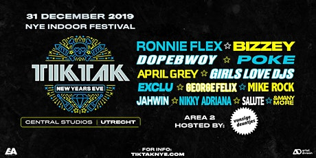 TIKTAK NEW YEARS EVE 2019 | UTRECHT tickets