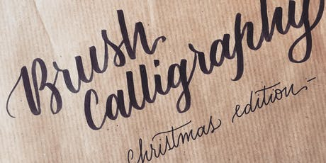 Intro to Brush Calligraphy - Christmas Edition tickets