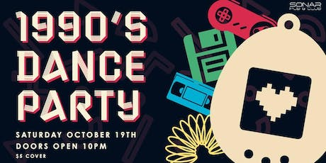 2000's Dance Party Saturday October 19th! tickets