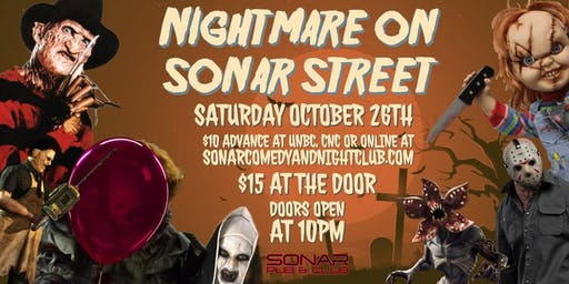 Sonar Halloween Party Saturday October 26th!