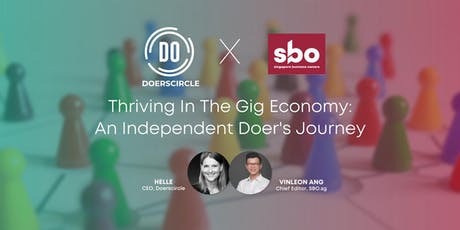 Thriving in the gig economy: an independent doer's journey tickets