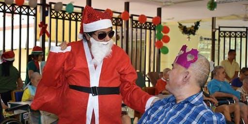 Christmas with Seniors at Geriatric Ward of SengKang Community Hospital