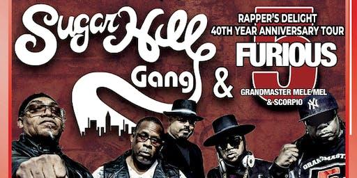 Sugarhill Gang & Grandmaster Mel & Scorpio Furious5 / 40th Anniversary Tour