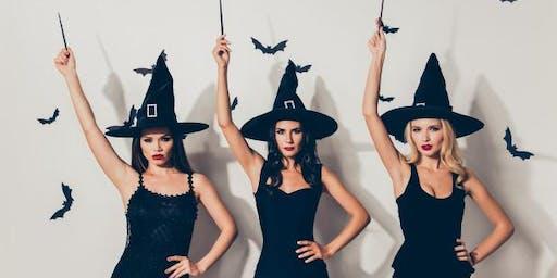 Witch Halloween Night