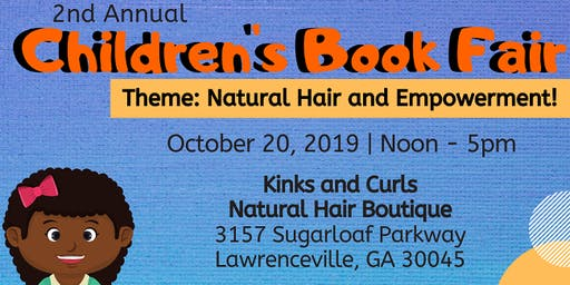 Free Event: Natural Hair Book Fair