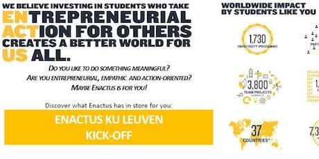 KICK-OFF ENACTUS KU LEUVEN tickets