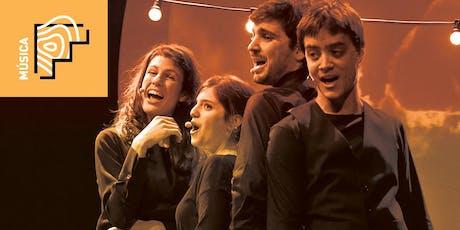 Imparables amb Quartet Mèlt - Anexa entradas