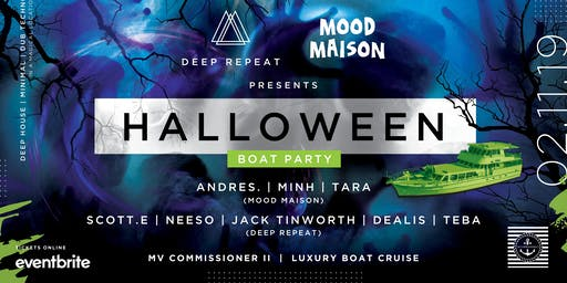 Deep Repeat x Mood Maison pres. Halloween Luxury B