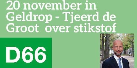 Politiek café over stikstof met Tjeerd de Groot e.a. tickets