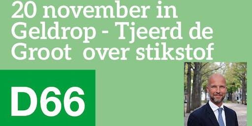Politiek café over stikstof met Tjeerd de Groot e.a.