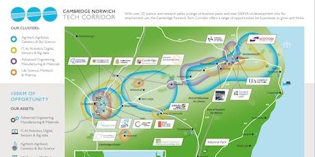Tech Corridor visioning workshop Cambridge tickets