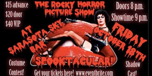 Sarasota's Rocky Horror Picture Show Spooktacular Ball!