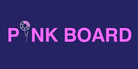 PINK BOARD: L'UNICA PARTITA IN CUI E' IMPORTANTE PAREGGIARE biglietti