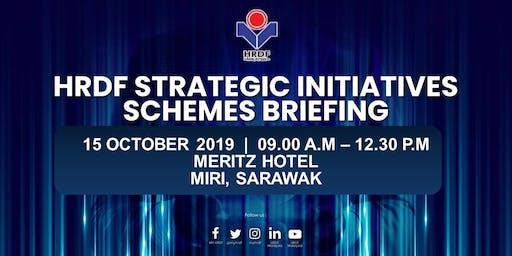 HRDF STRATEGIC INITIATIVES SCHEMES BRIEFING FOR EMPLOYERS (MIRI-SARAWAK)