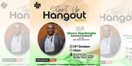 Start Up Hangout with Idowu Ogedengbe tickets