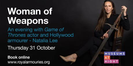 Natalia Lee: Woman of weapons tickets