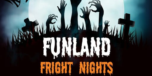 Funland Fright Night - 26/10/19 & 2/11/19
