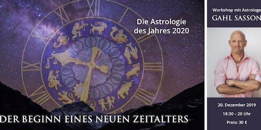 Die Astrologie des Jahres 2020 | Workshop mit Gahl Sasson