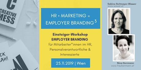 HR x Marketing = Employer Branding³ tickets