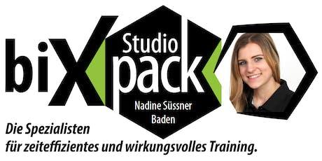 Wald&Friends Baden zu Gast bei biXpack Studio Baden bei Nadine Süssner Tickets