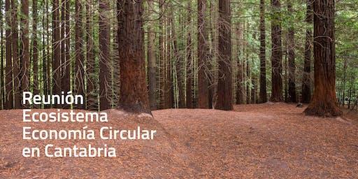 Reunión del Ecosistema de Economía Circular en Cantabria