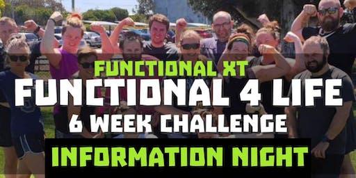 Metamorphica Functional 4 Life 6 Week Challenge Info Night