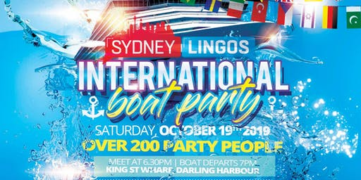 Sydney Lingos International Boat Party