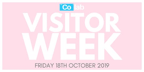 The Co Lab Visitor Day 18th October tickets