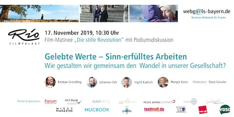 "Filmmatinee: ""Die stille Revolution"" mit Podiumsdiskussion Tickets"