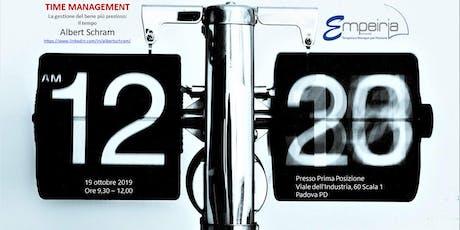 TIME MANAGEMENT biglietti