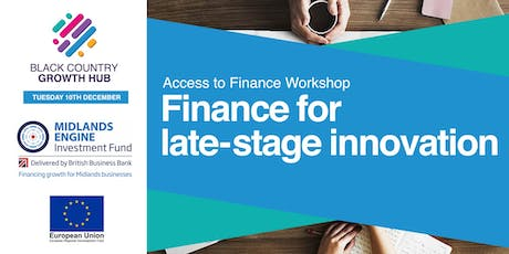 Finance for late-stage innovation | BCGH tickets