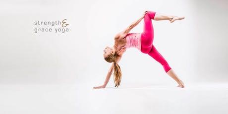 Strength & Grace Yoga mit Barbra Noh Tickets
