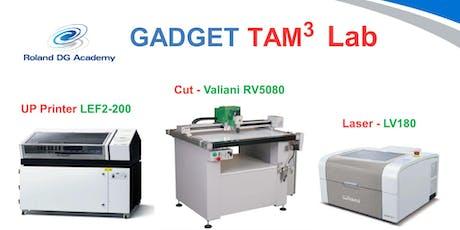 Gadget TAM3 Lab biglietti