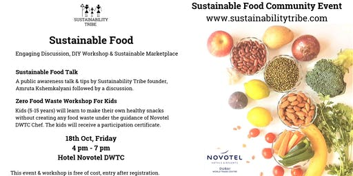 Sustainable Food with Sustainability Tribe