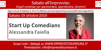 Workshop Start Up Comedians con Alessandra Faiella