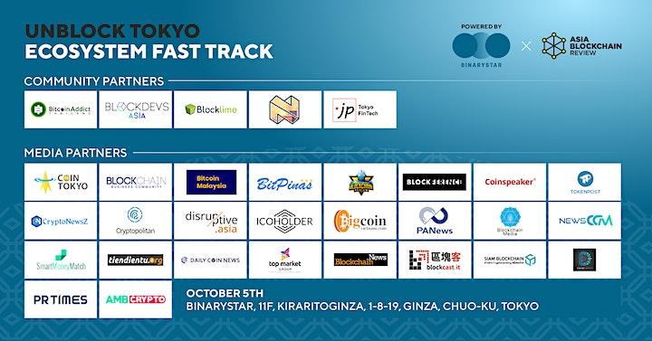 Unblock Tokyo: Ecosystem Fast Track image