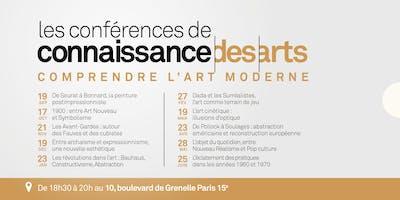 Comprendre l'art moderne : cycle de 6 Conférences