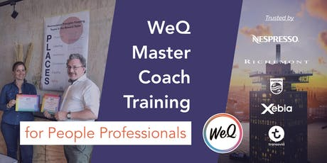 WeQ Master Coach Training & Certification tickets